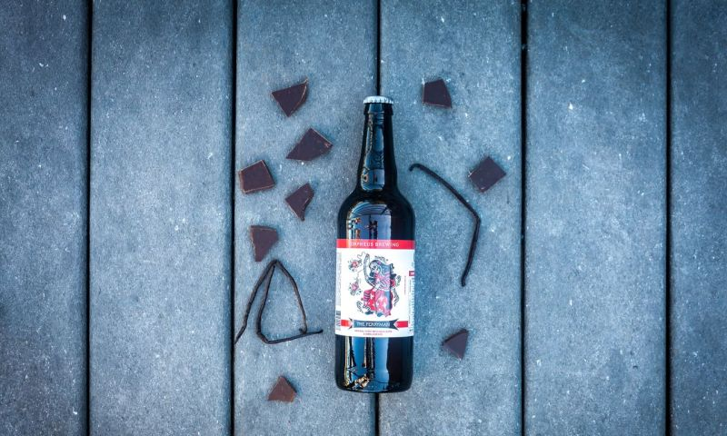 Chocolate lovers will enjoy The Ferryman from Orpheus.