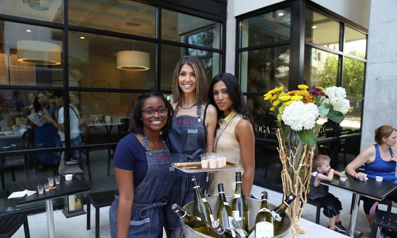 The BeltLine Wine Stroll is a great way to enjoy the day strolling through intown neighborhoods while enjoying a sip or two of wine.