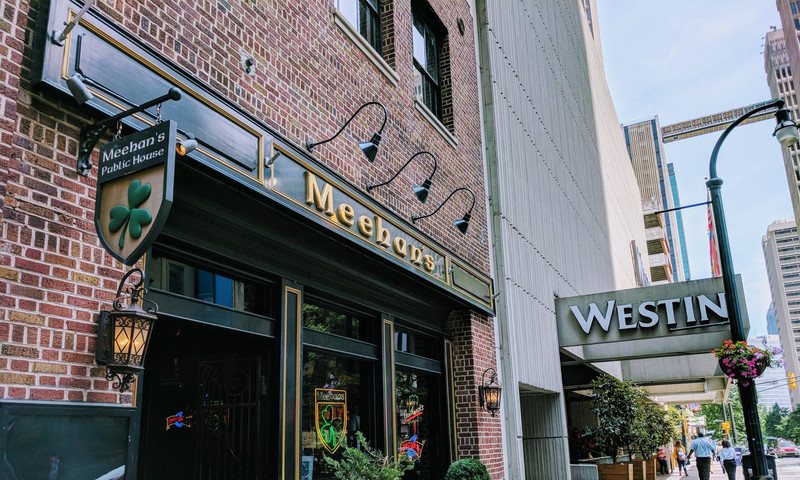 Meehan's will keep your belly (and your glass) filled during the game. (Silei Li)