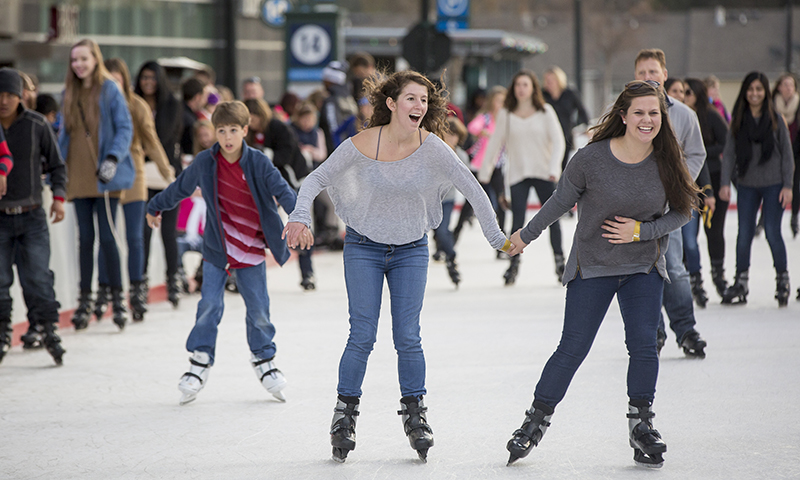 Get your skate on before ice skating season is over. (Laura Rispin, The Wilbert Group)