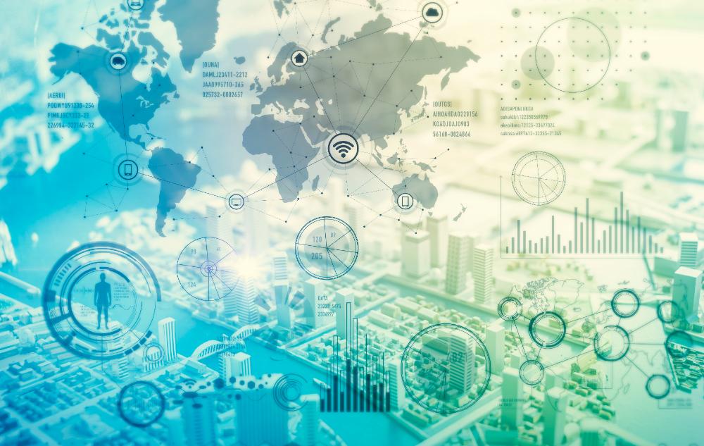 メインビジュアル : IoT、ビッグデータ、そしてAI ――デジタル世界の新たな3種の神器