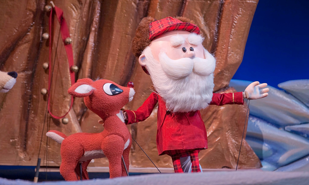 Rudolph the Red-Nosed Reindeer at the Center for Puppetry Arts