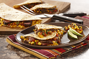 Cantina Steak Quesadillas with Skillet Charred Corn Salsa.jpg