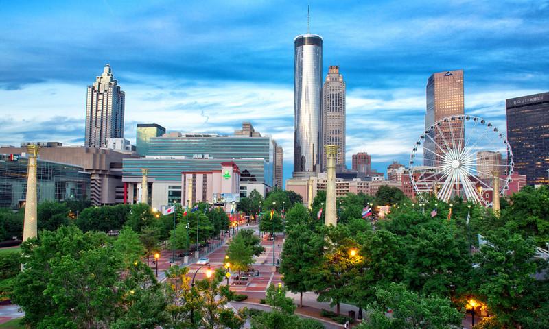 Visitors And Locals Alike Love How Walkable Downtown Atlanta Is Gene Phillips Atlantaphotos