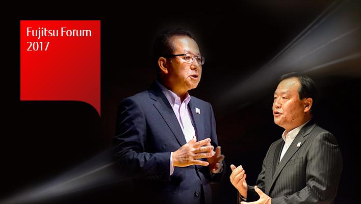 メインビジュアル : デジタル革新を最大限に活かし新たな価値を創り出す Human Centric Innovation : Digital Co-creation