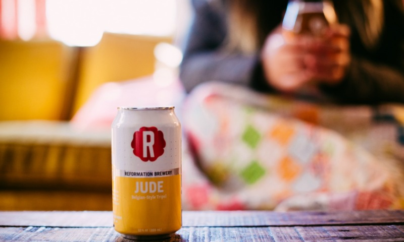 Jude from Reformation is a lovely Belgian, great for sipping.