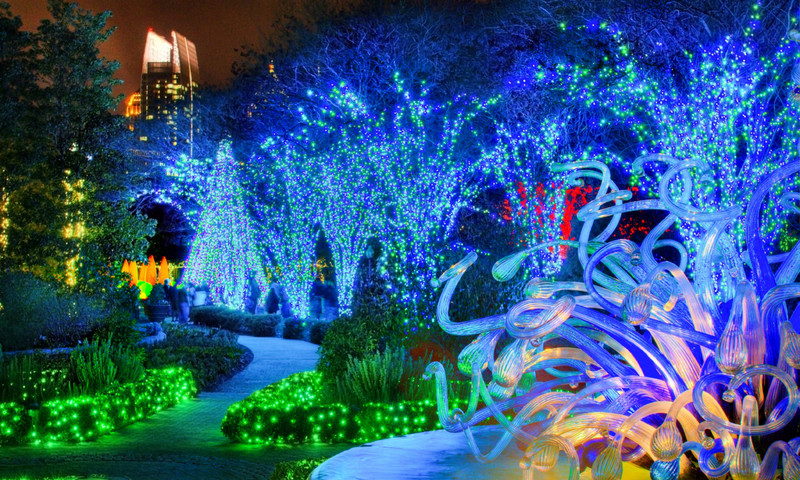 Garden Lights Holiday Nights is breathtakingly spectacular. (Joey Ivansco)