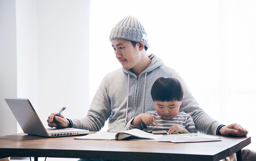 メインビジュアル : テレワーク導入のメリットと課題 富士通16万人の実践から