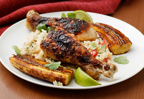 Flavor Shortcut: Jerk Chicken & Roasted Plantains