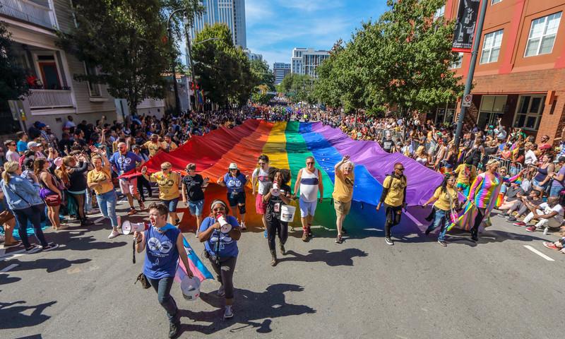 Atlanta's largest parade is just around the corner. (📷 Atlanta Pride Committee, Inc. & Henry Etsitty)