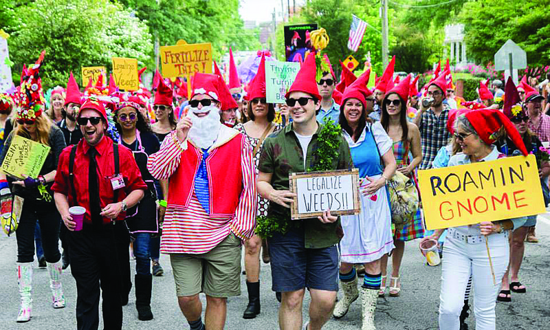Dust off your gnome hat and head to Inman Park for Atlanta's most eclectic parade.