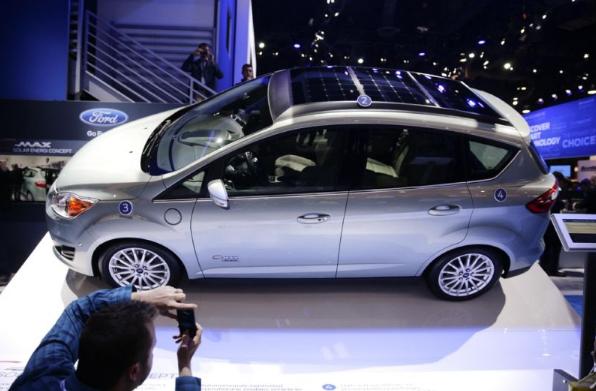 Ford Solar Powered Car Yahoo Tech