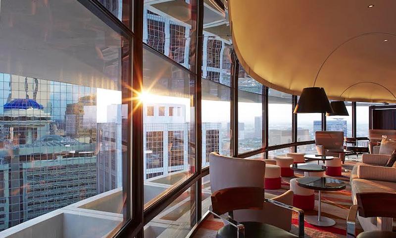 The Polaris provides stunning views of downtown Atlanta.