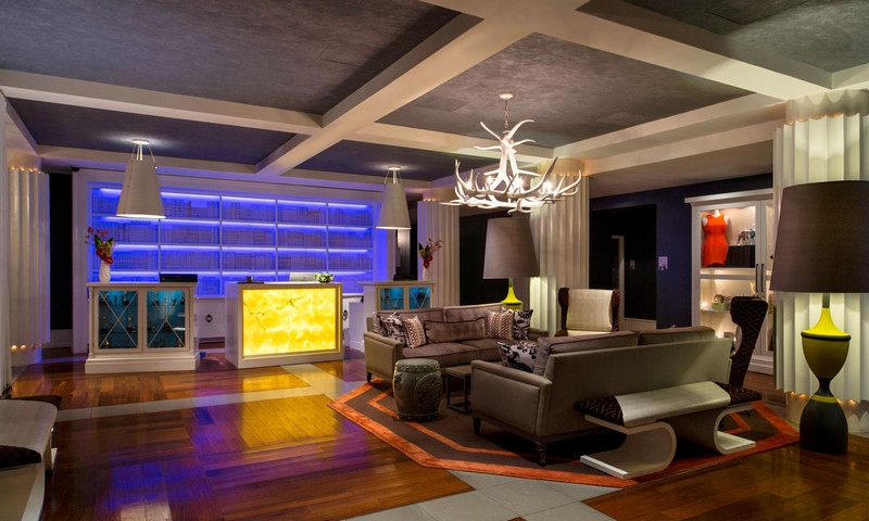 You could stay at the W Buckhead hotel.