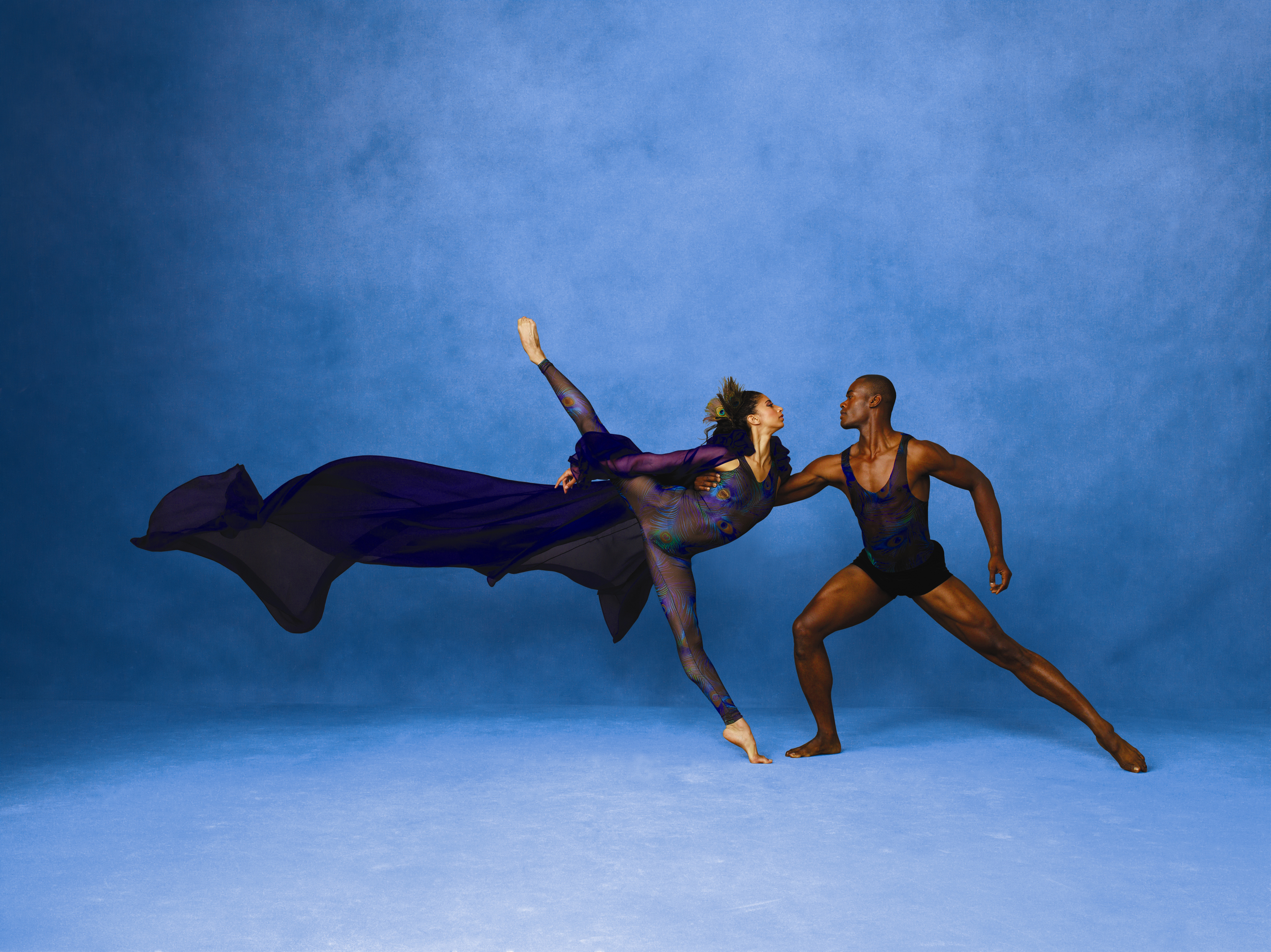 Alvin Ailey American Dance Theater's Alicia Graf Mack and Jamar Roberts.  Photo by Andrew Eccles