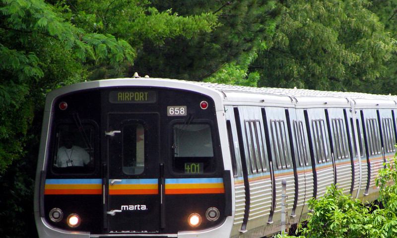 MARTA is a convenient and inexpensive way to travel throughout ATL.