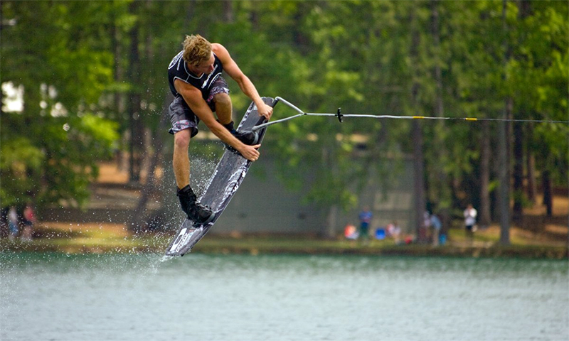 The annual Water Ski & Wakeboard Tournament at Callaway Gardens is a splash.