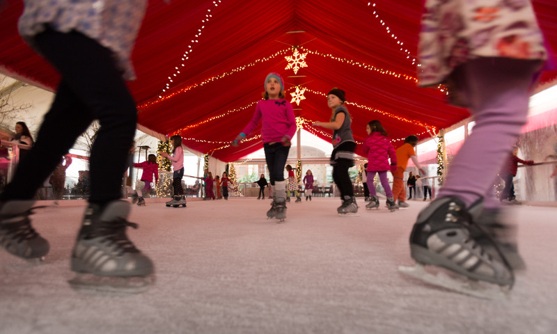 The Astor Holiday Ice Rink at St. Regis Atlanta opens Nov. 24.