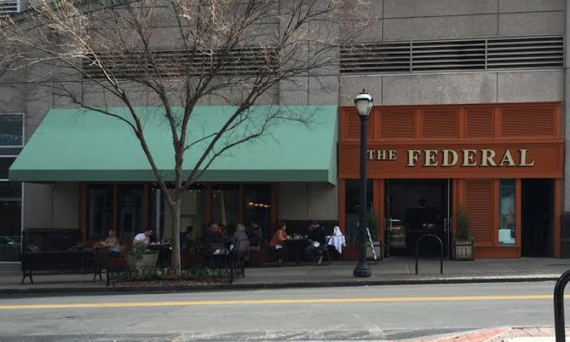 Get a juicy sandwich and side for a reasonable price at The Federal.