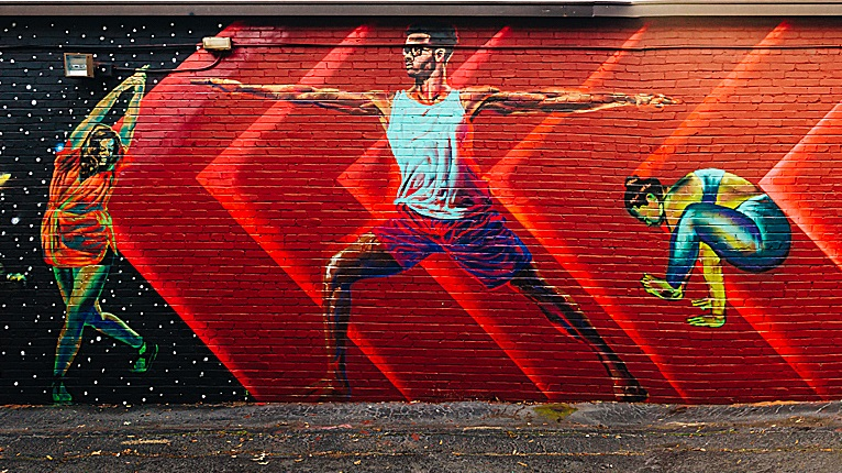 atlanta all the love yoga mural occasionalsuperstar