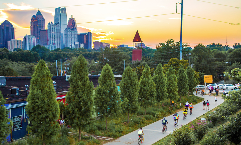 Get outdoors and walk, run, climb... or eat. (photo 2015 Jenni Gartman, AtlantaPhotos.com)