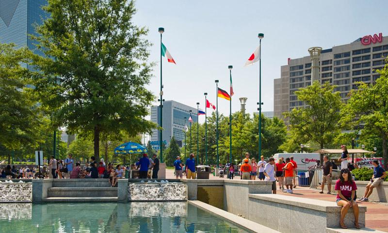 A Top City for Work & Play. (James Duckworth, AtlantaPhotos.com)