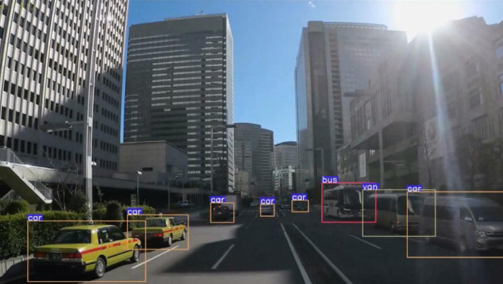 Main visual : Real-time City Monitoring with AI and Image Recognition Technology