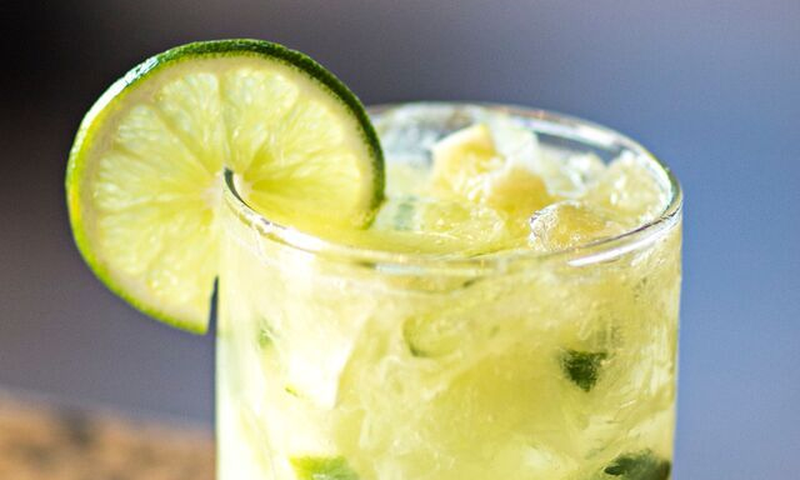 Enjoy the caipirinha, Brazil's national drink, at Chama Gaucha in Buckhead.