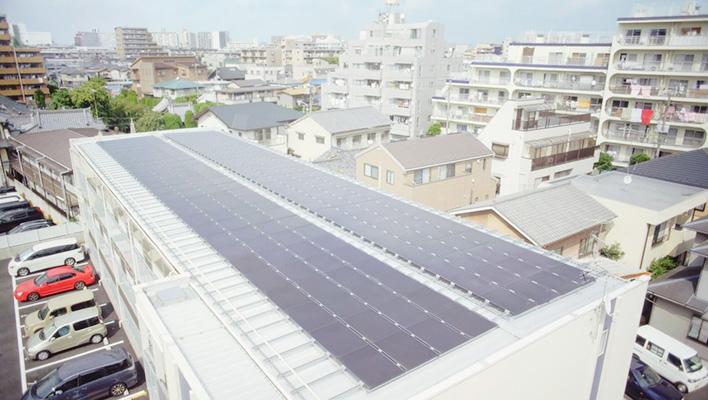 メインビジュアル : IoT×クラウドで小さな故障も検知!太陽光発電の安定運用を実現~レオパレス21様~