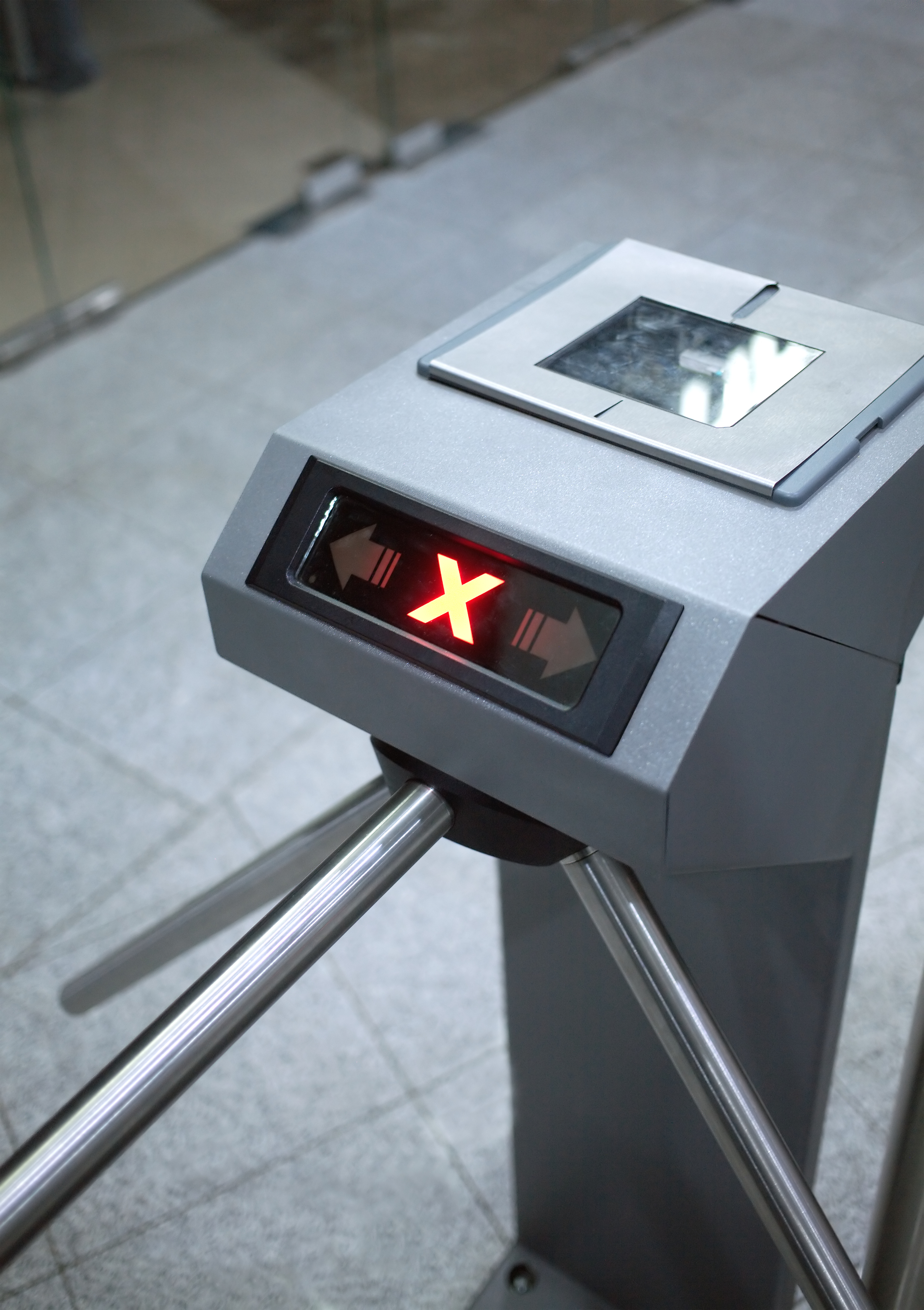 Access control system closeup
