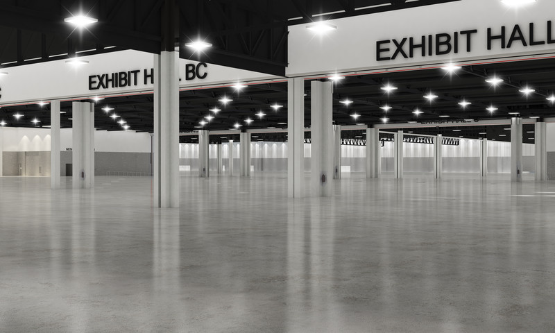 Georgia World Congress Center spreads its wings with Exhibit Hall BC.