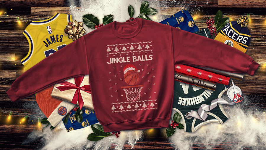 Everything but ugly sweaters: The last 10 years of NBA Christmas Day jerseys