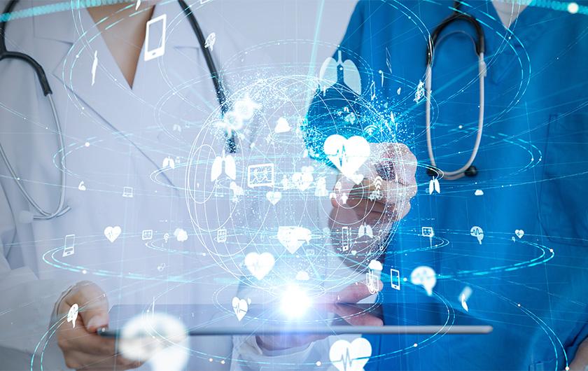 メインビジュアル : AIを使った「がんゲノム医療」で、がん治療を加速する