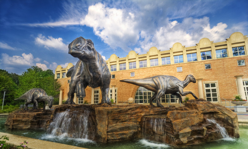 Fernbank is where dinosaurs live in the ATL.