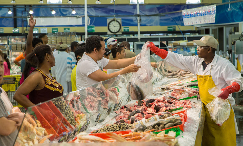 Buford Highway Farmer's Market features foods from many nations. (Kevin Rose, AtlantaPhotos.com)