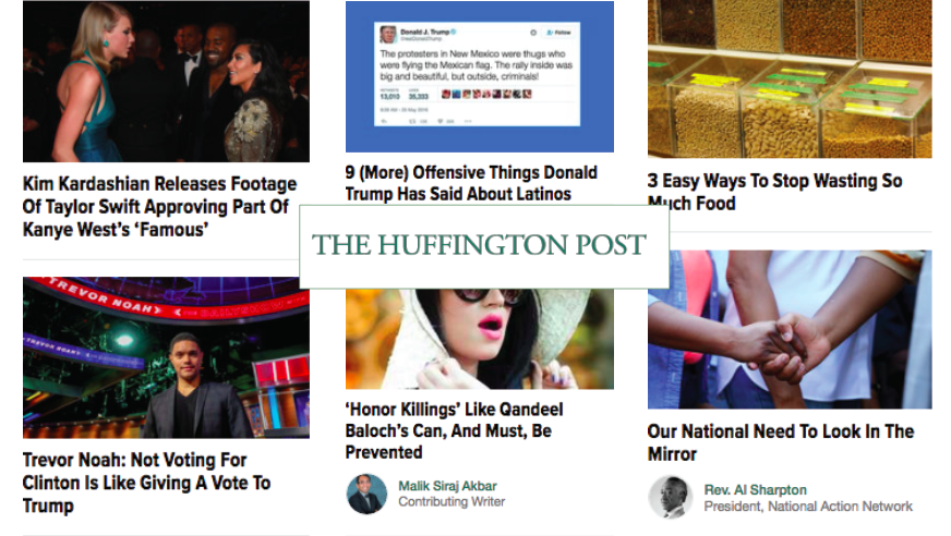 The Huffington Post Brands as Publishers
