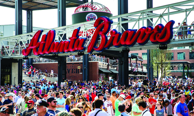 Don't miss your chance to see SunTrust Park during its inaugural season. (Kevin Liles