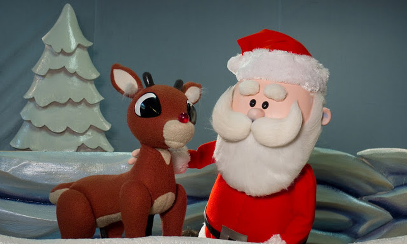 Rudolph has hoofed it back to Center for Puppetry Arts. (Clay Walker)