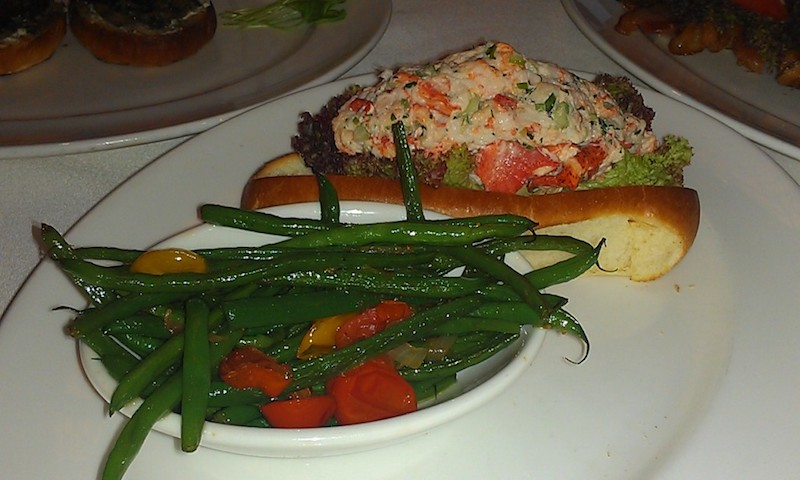 Order the lobster roll at Capital Grille. (Malika Bowling)