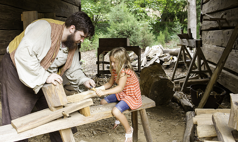 Atlanta History Center offers hands-on experiences. (Crystal Pelkey)