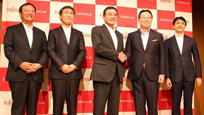 メインビジュアル : 富士通とオラクル、クラウドビジネスの加速に向けて戦略的提携