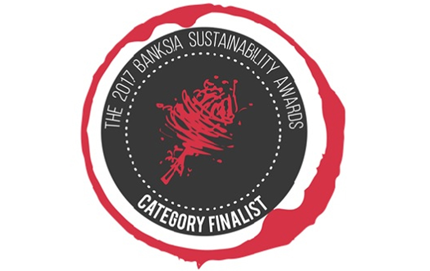Main visual : Fujitsu has been nominated for the Banksia Sustainability Awards 2017