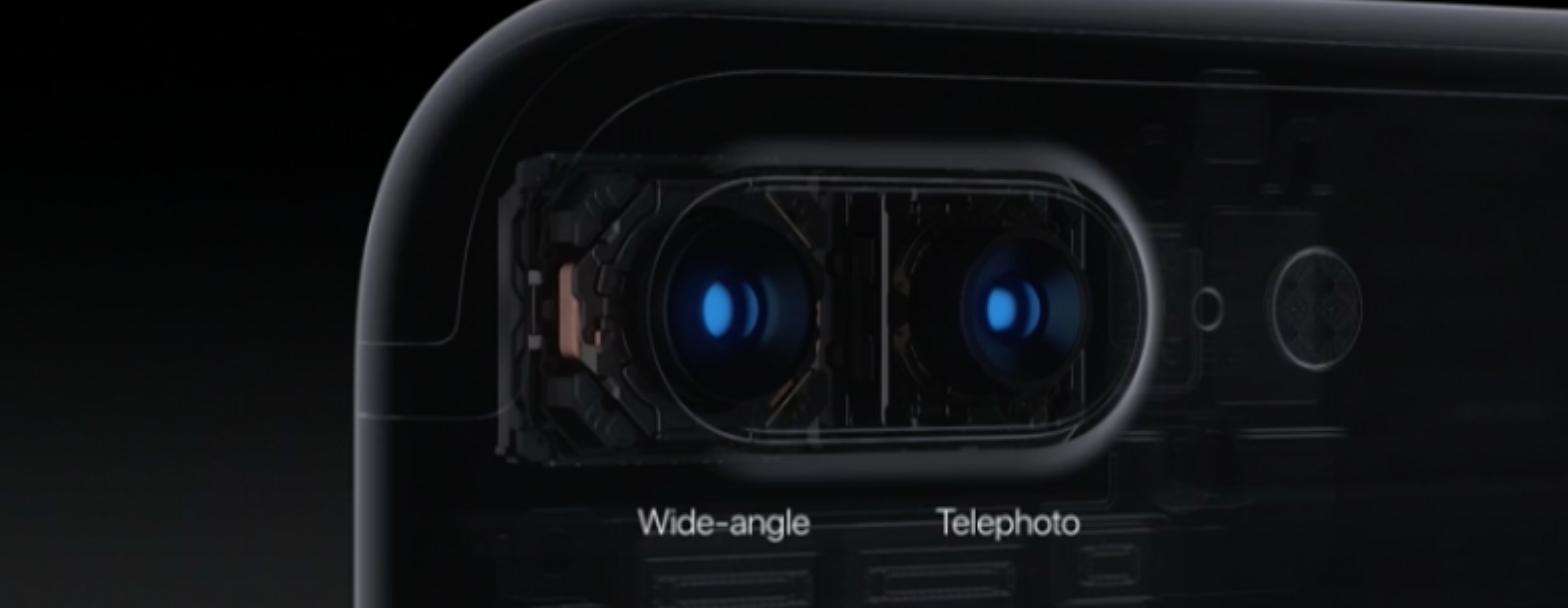 Cómo funcionan las cámaras del iPhone 7
