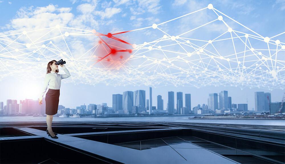 メインビジュアル : IoTの普及に欠かせない、ネットワークの可視化とセキュリティ