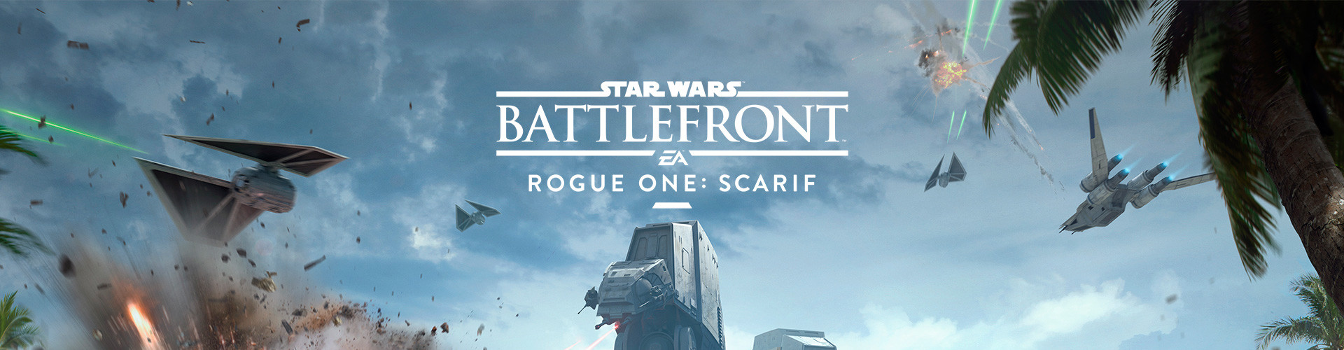 "News of ""Star Wars Battlefront - Rogue One: Scarif"" marked the game's 1-year anniversary."