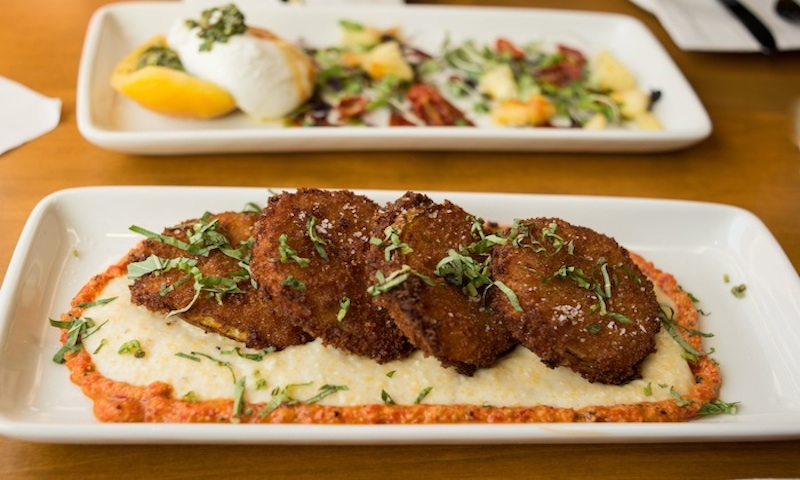 Start Your Meal At Tupelo Honey Cafe With The Fried Green Tomatoes