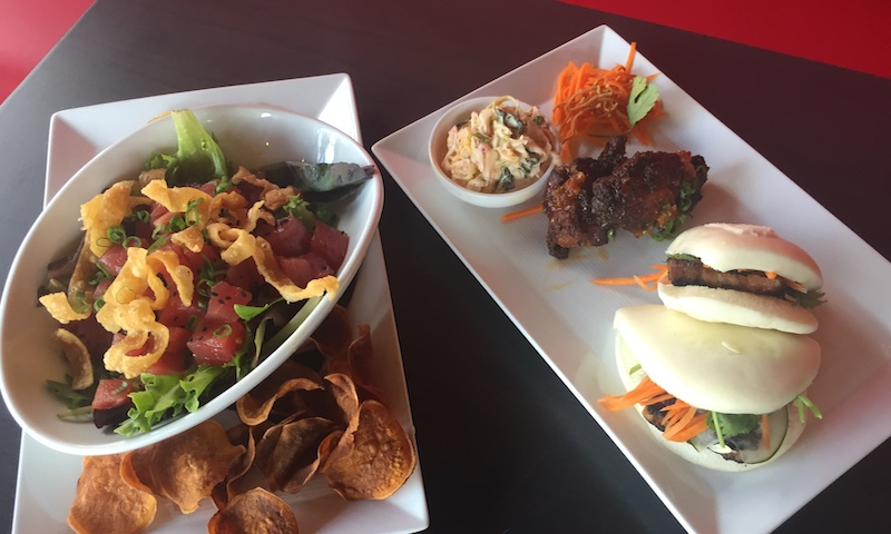 Ahi tuna, Malaysian wings and pork belly buns are just the start of a delicious group lunch at CO.
