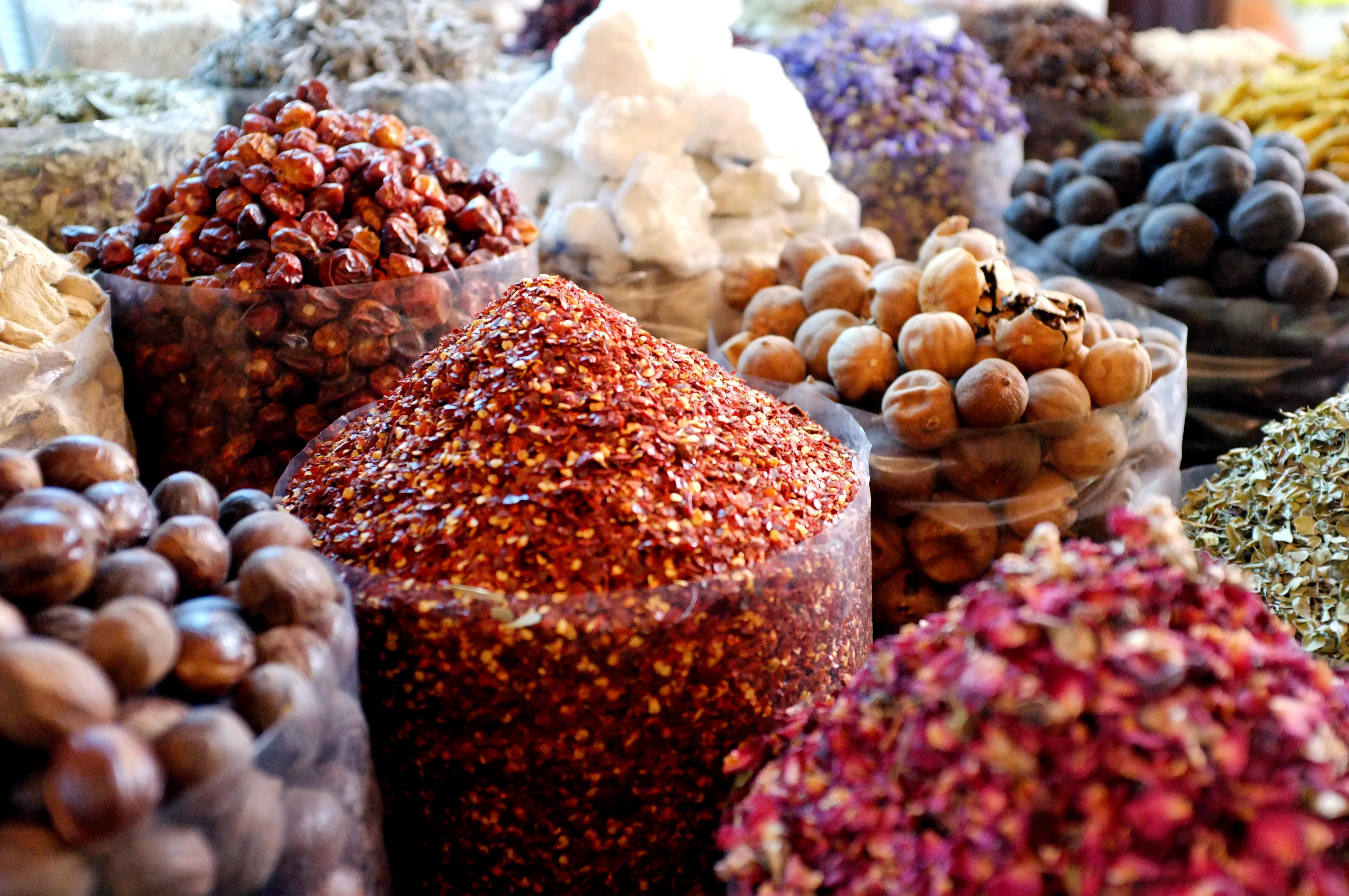 Dubai spices