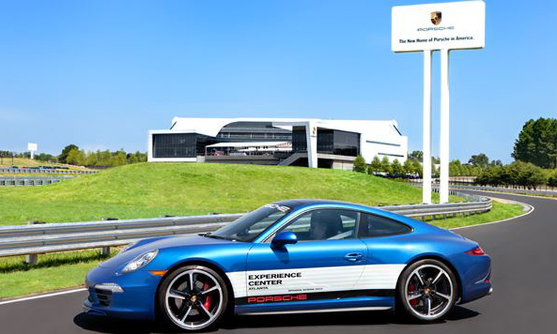 The Porsche Experience Center puts Dad into some amazing automobiles.