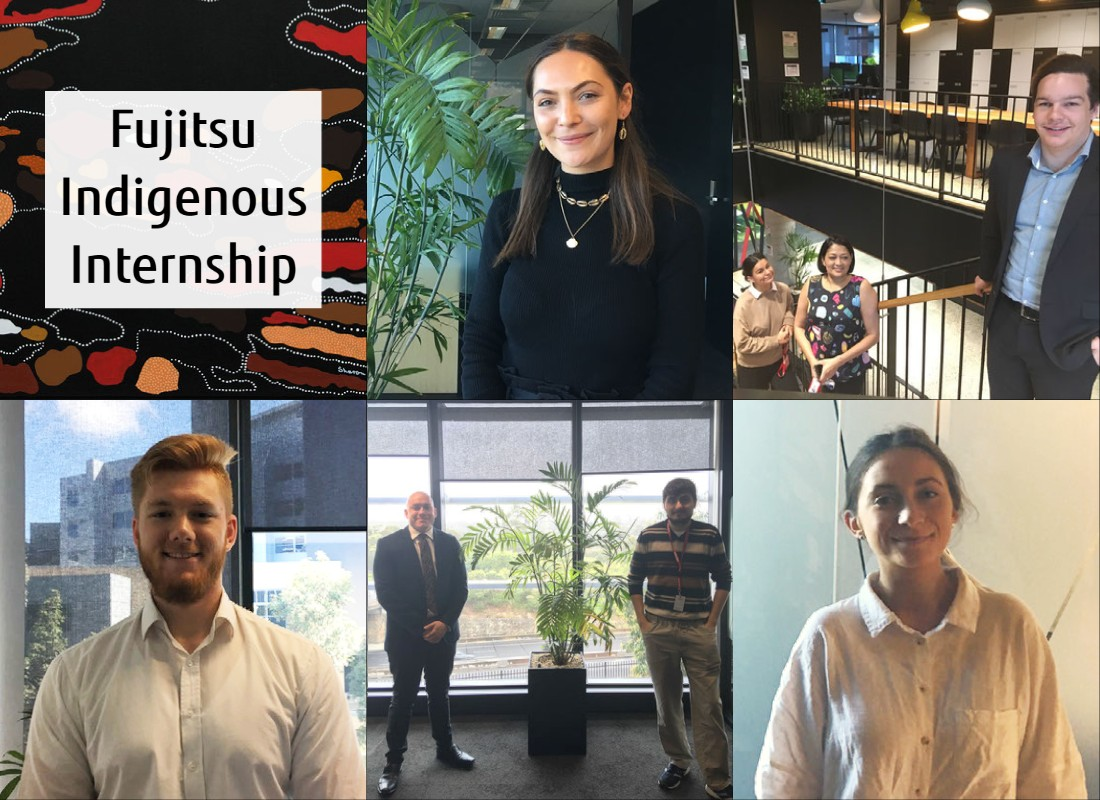 Main visual : Introducing Fujitsu's Indigenous Internship Program
